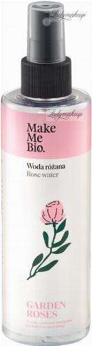 Make Me Bio - GARDEN ROSES - ROSE WATER - Woda różana - 200 ml
