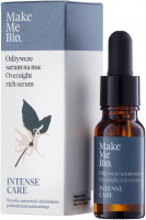 Make Me Bio - INTENSE CARE - Overnight Rich Serum - Odżywcze serum na noc - 15 ml