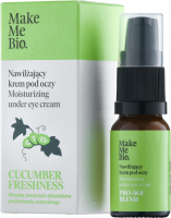 Make Me Bio - CUCUMBER FRESHNESS - Moisturizing under Eye Cream - Nawilżający krem pod oczy - 10 ml