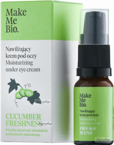 Make Me Bio - CUCUMBER FRESHNESS - Moisturizing under Eye Cream - Nawilżający krem pod oczy - 10 ml