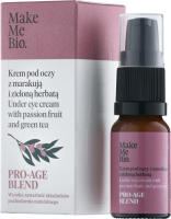 Make Me Bio - PRO-AGE BLEND - Under Eye Cream with Passion Fruit and Green Tea - Krem pod oczy z marakują i zieloną herbatą - 10 ml