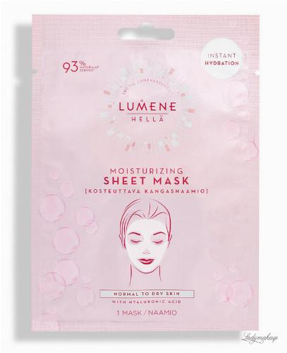 LUMENE - HELLA - Moisturizing Sheet Mask - Nawilżająca maska w płacie