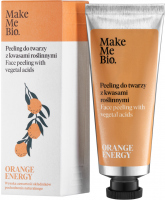Make Me Bio - ORANGE ENERGY - Face Peeling with Vegetal Acids - Peeling do twarzy z kwasami roślinnymi - 40 ml