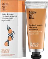 Make Me Bio - ORANGE ENERGY - Face Peeling with Vegetal Acids - Peeling do twarzy z kwasami roślinnymi - 40 ml