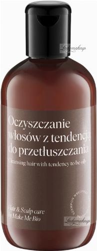 Make Me Bio - HAIR & SCALP CARE - Vegan Shampoo - Cleansing Hair with Tendency To Be Oily - Szampon wegański - Oczyszczanie włosów z tendencją do przetłuszczania  - 250 ml