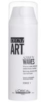 L'Oréal Professionnel  TECNI ART. SIREN WAVES - Elastyczny krem podkreślający fale, ruch włosów i połysk - 150 ml
