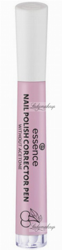 Essence - Nail Polish Corrector Pen - Korektor do manicure w markerze