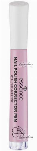 Essence - Nail Polish Corrector Pen - Korektor do manicure w markerze