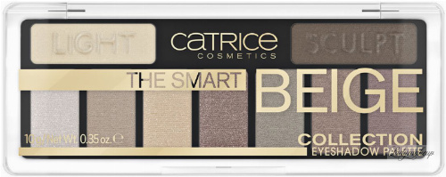 Catrice - THE SMART BEIGE - COLLECTION EYESHADOW PALETTE - Paleta 9 cieni do powiek