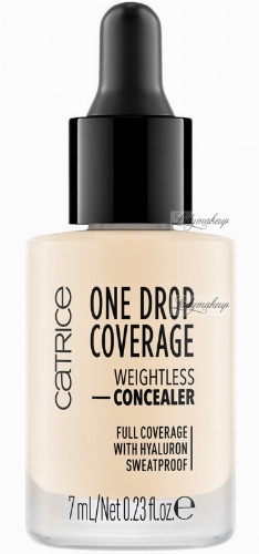 Catrice - ONE DROP COVERAGE - WEIGHTLESS CONCEALER - Drop concealer