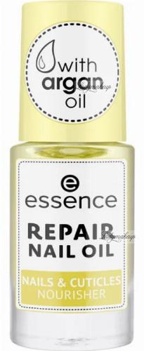 Essence - REPAIR NAIL OIL WITH ARGAN OIL - Naprawczy olejek do paznokci z olejkiem arganowym - 8 ml