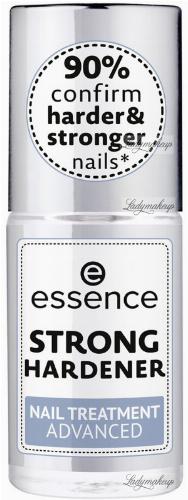 Essence - STRONG HARDENER - NAIL TREATMENT ADVANCED - Wzmacniająca odżywka do paznokci - 8 ml