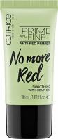 Catrice - PRIME AND REFINE - No More Red - Baza pod makijaż redukująca zaczerwienienia - 30 ml