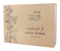 Your Natural Side - Zestaw upominkowy naturalnych kosmetyków - Truskawka & Zielona Herbata