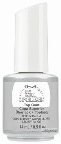 Ibd - Just Gel Polish - Top Coat - Żel nawierzchniowy - 14 ml