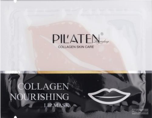 PIL'ATEN - COLLAGEN NOURISHING LIP MASK - Odżywcza maska na usta z kolagenem - 1 szt.