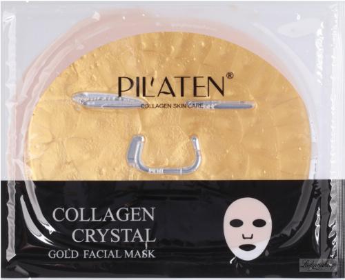 PIL'ATEN - COLLAGEN CRYSTAL GOLD FACIAL MASK - Złota, kolagenowa maska do twarzy - 1 szt.