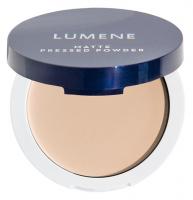 Lumene - MATTE PRESSED POWDER - Prasowany puder matujący - 2 SOFT HONEY