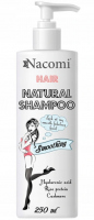 Nacomi - Hair Natural Shampoo - Wygładzająco-nawilżający szampon do włosów - 250 ml