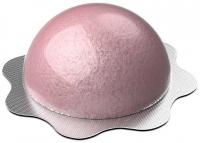 Nacomi - Fizzing Bath Bomb - Sparkling bath hemisphere - Raspberry