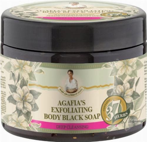 Agafia - Bania Agafii - Czarne mydło do ciała - Oczyszczająco-złuszczające - 300 ml