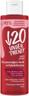 UNDER TWENTY - ANTI ACNE - CLEANSING ANTIBACTERIAL TONER - Antibacterial cleansing tonic - Mixed and oily skin - 200 ml