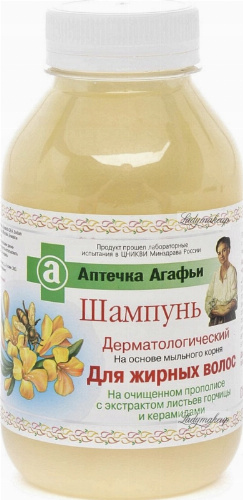 Agafia - First aid kit Agafii - Shampoo for oily hair - 300 ml