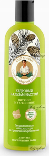 Agafia - Bania Agafii - Cedar hair balm-infusion - 280 ml