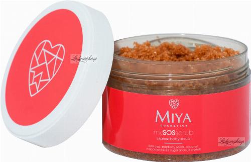 MIYA - My SOS Scrub - Express Body Scrub - Ekspresowy peeling do ciała z czerwoną glinką - 200 g