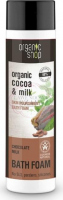 ORGANIC SHOP - BATH FOAM - Nourishing bath foam with chocolate milk - Milk Chocolate - 500 ml