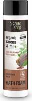 ORGANIC SHOP - BATH FOAM - Nourishing bath foam with chocolate milk - Milk Chocolate - 500 ml