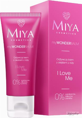 MIYA - My WONDER Balm - Odżywczy krem z olejkiem z róży - I Love Me - 75 ml