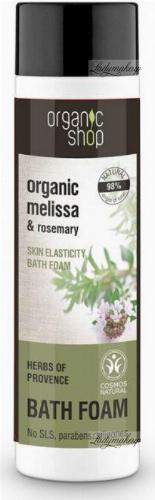 ORGANIC SHOP - BATH FOAM - Bath foam with herbs of Provence - Herbs of Provence - 500 ml