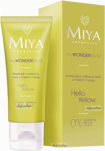 MIYA - My WONDER Balm - Nawilżająco-odżywczy krem z masłem mango - Hello Yellow - 75 ml
