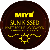MIYO - SUN KISSED - MATTE BRONZING POWDER - Matowy puder brązujący