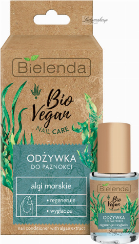 Bielenda - Bio Vegan Nail Care - Vegan nail conditioner with sea algae - 10 ml