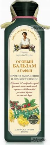 Agafia - Recipes Babuszki Agafii - Herbal hair balm - Against hair loss - 350 ml