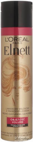 L'Oréal - ELNETT de Luxe HAIRSPRAY - Hair spray with volumizing arginine - 250 ml