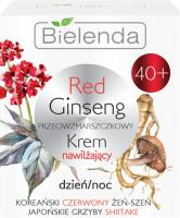 Bielenda - Red Ginseng Cream - Przeciwzmarszczkowy krem nawilżający - Dzień/Noc - 40+