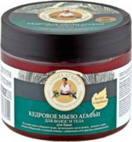 Agafia - Bania Agafii - Cedrowe mydło do włosów i ciała - 300 ml