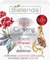 Bielenda - Red Ginseng Cream - Przeciwzmarszczkowy krem liftingujący - Dzień/Noc - 50+