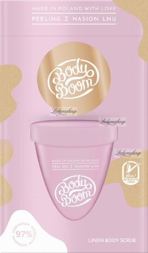BodyBoom - LINEN BODY SCRUB - Flax seed body peeling - 100g