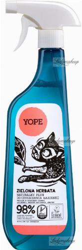 YOPE - NATURAL LIQUID FOR BATHROOM CLEANING - Green tea