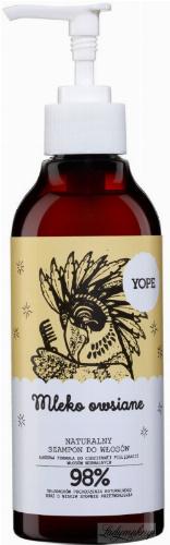 YOPE - NATURAL HAIR SHAMPOO - Oat milk