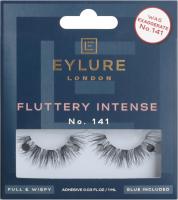 EYLURE - FLUTTERY INTENSE - NR 141 - Rzęsy z klejem - Efekt podwójnej objętości - 6001330N