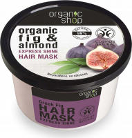 ORGANIC SHOP - Express Shine Hair Mask - Organic Fig & Almond - Greek fig hair mask - 250 ml