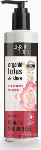 ORGANIC SHOP - BEAUTY SHOWER GEL - Odmładzający żel pod prysznic z lotosem - Superb Silk Rejuvenating - 280 ml