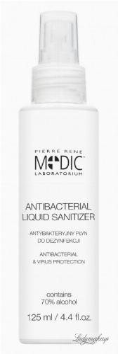 Pierre René - ANTIBACTERIAL LIQUID SANITIZER - Antybakteryjny płyn do dezynfekcji - 125 ml