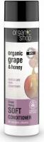 ORGANIC SHOP - SOFT GENTLE CARE CONDITIONER - Pielęgnacyjna odżywka do włosów z winogronem i miodem - Grape Honey - 280 ml