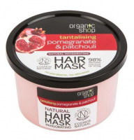 ORGANIC SHOP - NATURAL HAIR MASK - Refreshing hair mask - Pomegranate and Patchouli - 250 ml